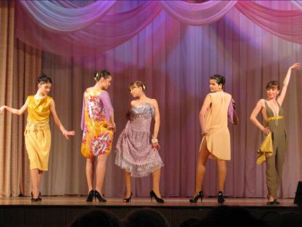 Конкурс дизайн одежды